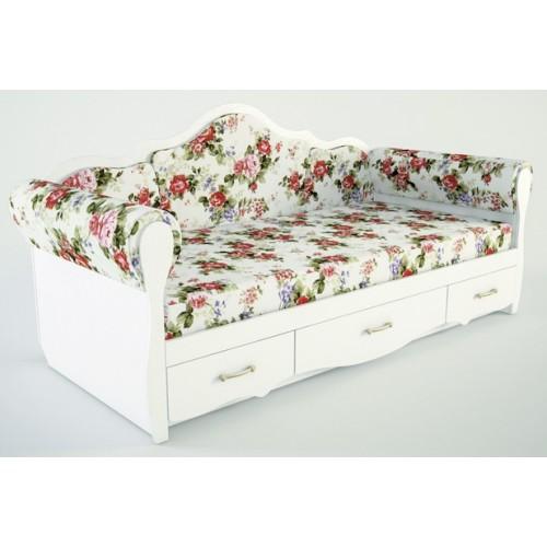 Детская кровать Прованс К 4-2/2000х900 с накладками