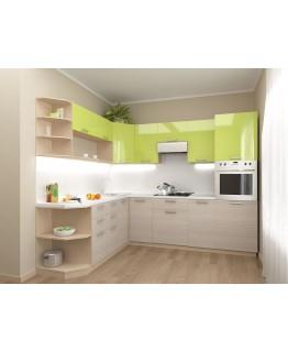 Кухня модульна СМ Ківі (2100x2000х2132)