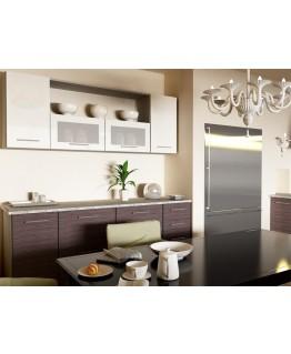 Кухня модульна СМ Сіті (2000х600х2132) 2