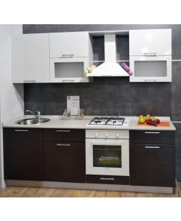 Кухня модульна СМ Сіті (2400х600х2180)