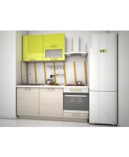 Кухня модульна СМ Ківі (1800x600x2132)