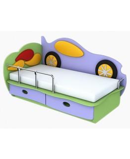 Дитяче ліжко Ренесанс Машинка (1400х700)