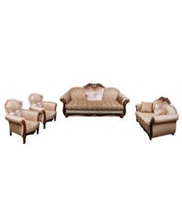 Комплект м'яких меблів Лотос–М Султан новий (3+2+1+1)