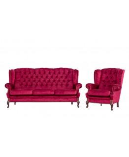 Комплект м'яких меблів Мебус Лорд 3+1