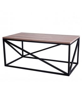 Журнальний стіл МеталАрт Левангер 0,9