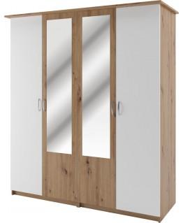 Шафа Світ меблів Кім 4-х дверна