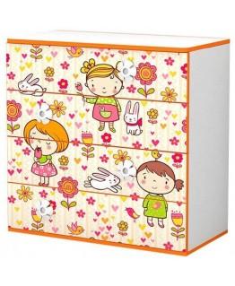 Комод дитячий Luxe Studio Mandarin (Мандаринка)
