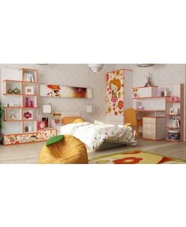 Дитяче ліжко Luxe Studio Mandarin з бортиками