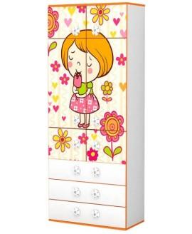 Шафа дитяча Luxe Studio Mandarin (Мандаринка)