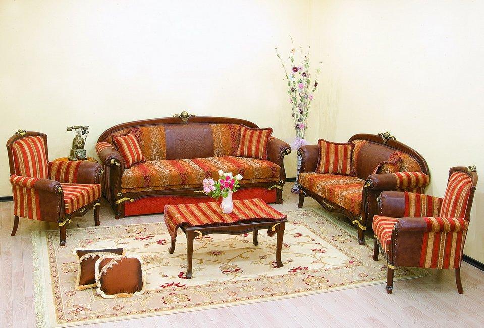 Комплект мягкой мебели Башак 3+2+1+1