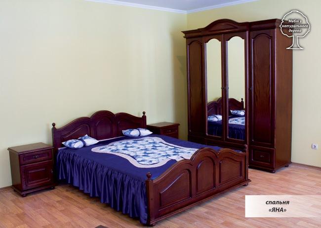 Спальня Яна дерево