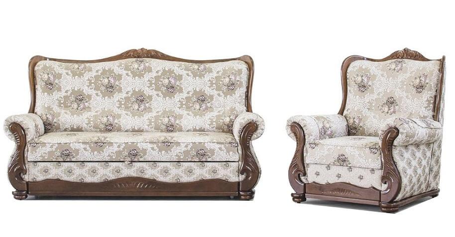 Комплект мягкой мебели Грация 3+1+1