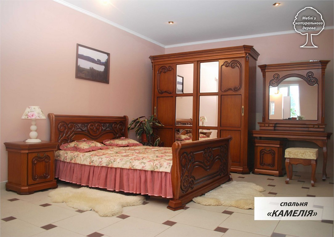 Спальня Камелия (дерево)