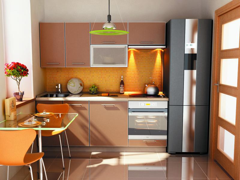 Кухня модульная Капучино (2000x600x2132)