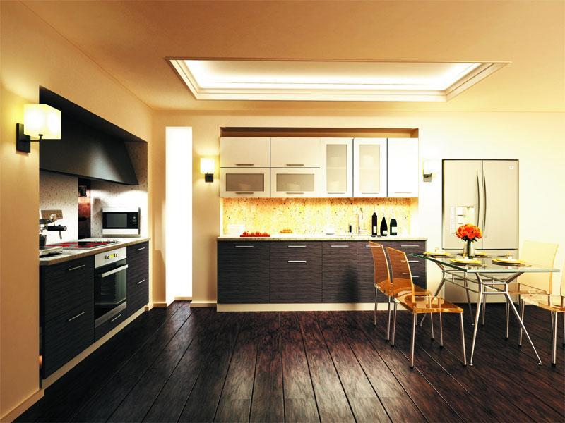 Кухня модульная Сити (1800х2400х2132)