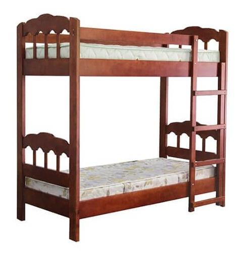 Двухъярусная кровать Капитошка 0,9