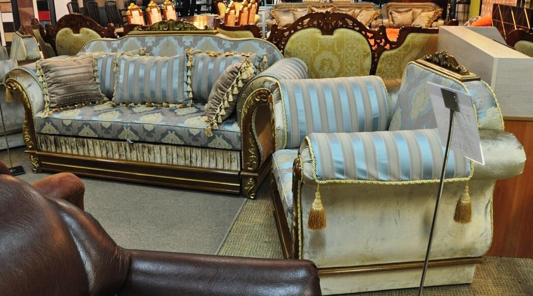 Комплект мягкой мебели Барон 3+1+1