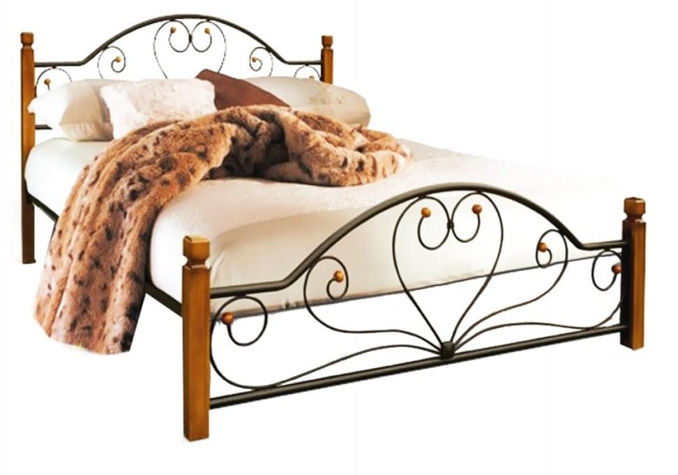 Кровать Джоконда деревянные ножки