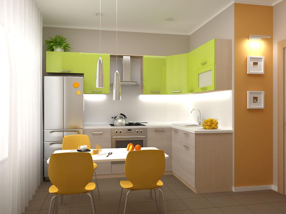 Кухня модульная Киви (2600x1600x2132)