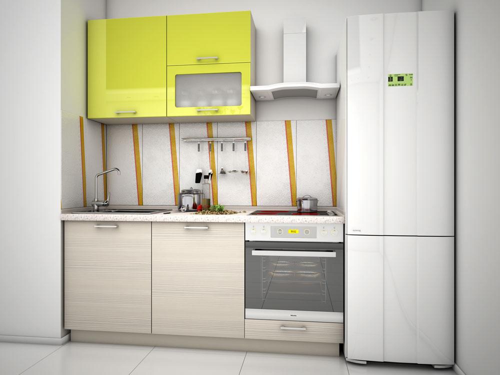 Кухня модульная Киви (1800x600x2132)