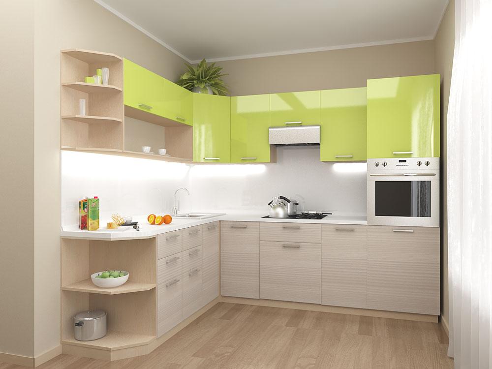 Кухня модульная Киви (2100x2000х2132)