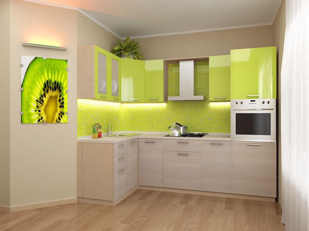 Кухня модульная Киви (2000X1400X2132)