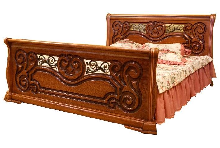 Кровать Камелия 1.6 две ковки