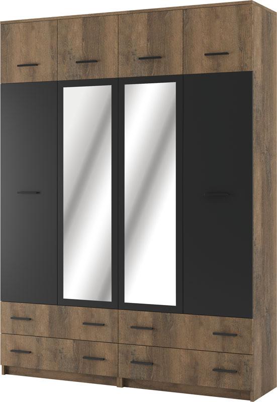 Шкаф Лотос 4-х дверный