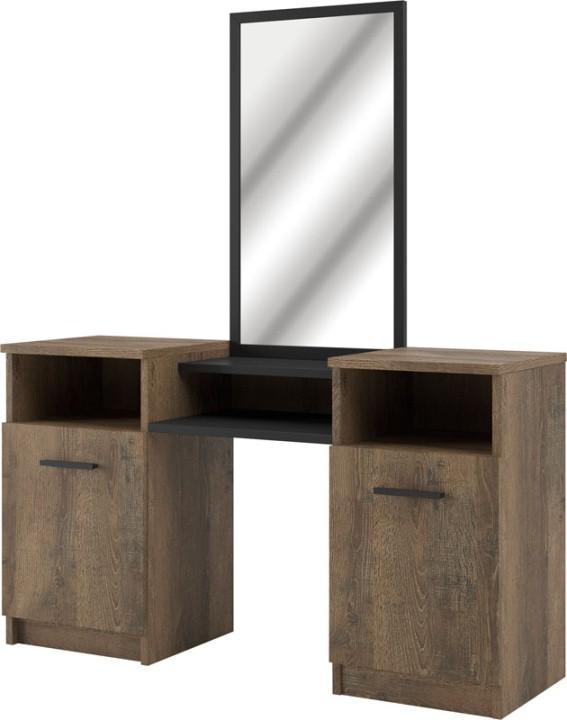 Туалетный столик Лотос (двухтумбовый)