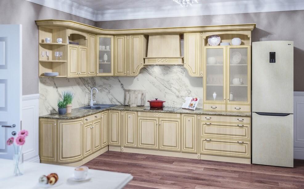 Кухня Валенсия модульная