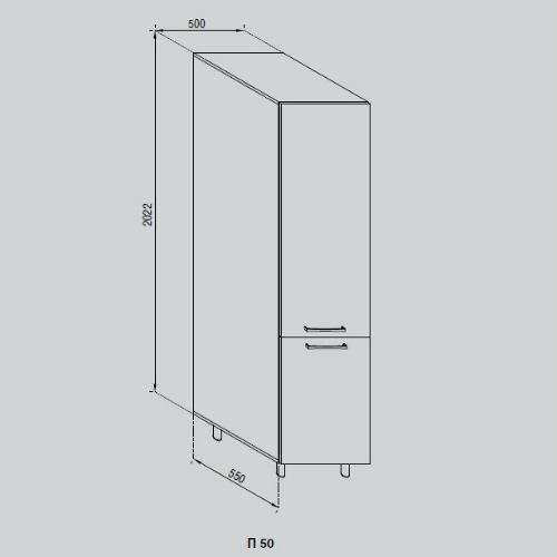Кухонный модуль Адель П 50