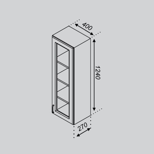 Кухонный модуль Оля В 40ПСк