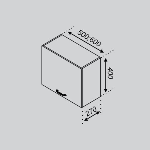 Кухонный модуль Тюльпан 50 ОКАП