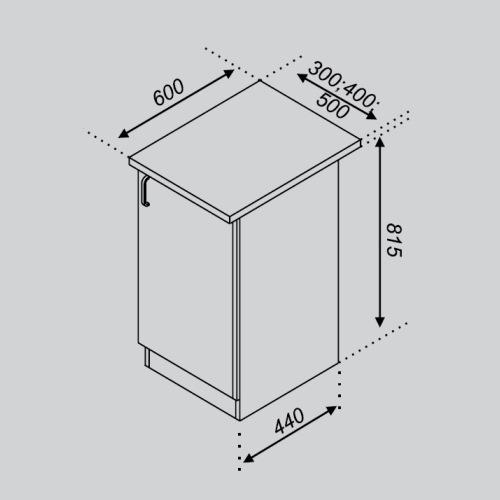 Кухонный модуль Тюльпан Н 30