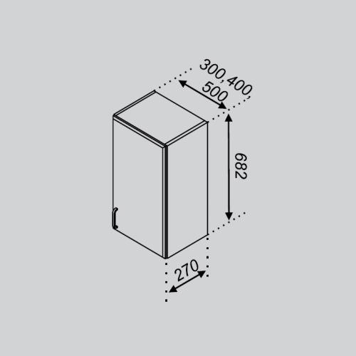 Кухонный модуль Тюльпан В 30
