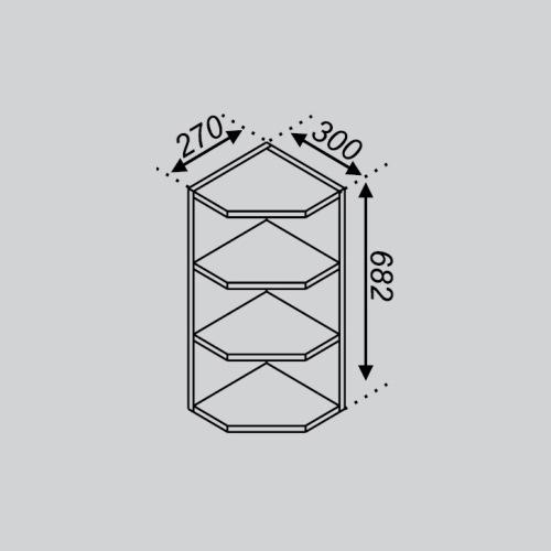 Кухонный модуль Тюльпан В 30КЗ