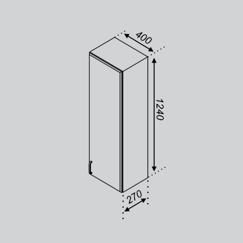 Кухонный модуль Тюльпан В 40П