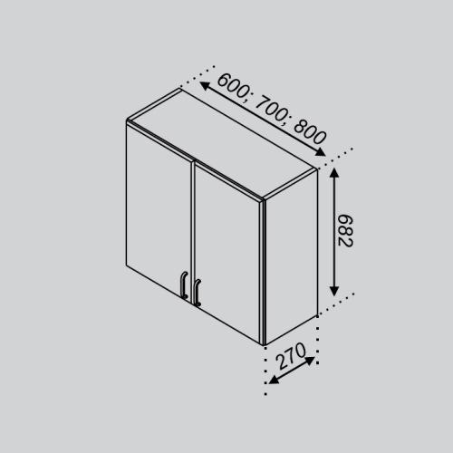 Кухонный модуль Тюльпан В 60