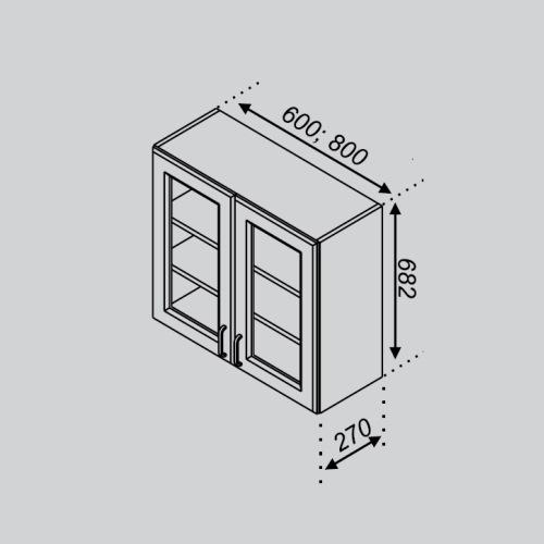 Кухонный модуль Тюльпан В 60Ск