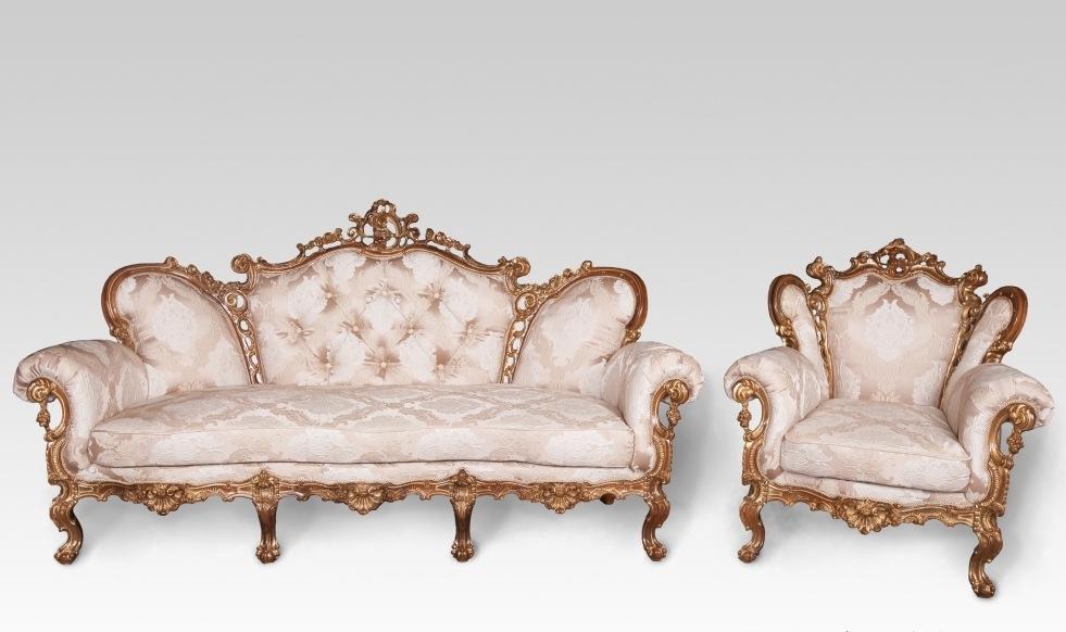Комплект мягкой мебели Изабелла 3+1+1