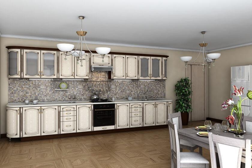 Кухня Платинум модульная