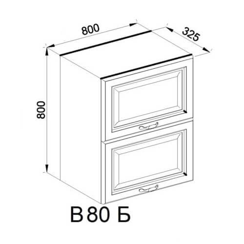 Кухонный модуль Роксана В 80 Б