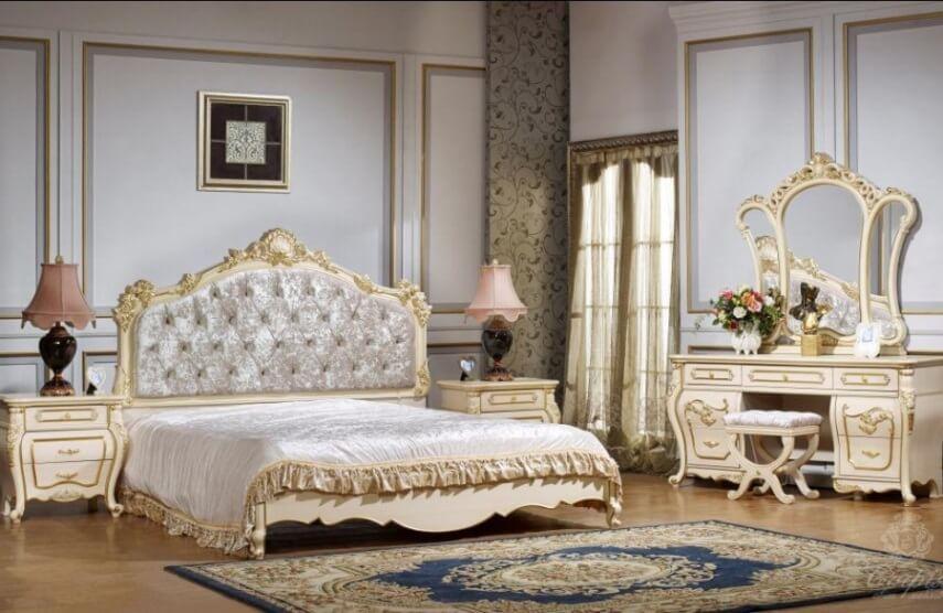 Спальня Милан (молочно-белый)