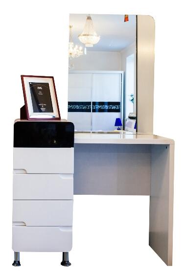 Туалетный столик Флавер с зеркалом