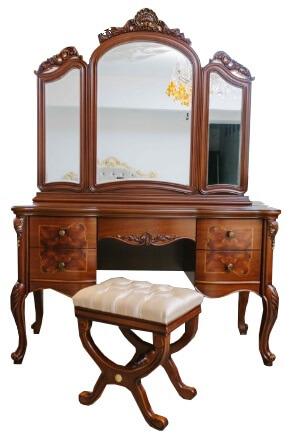 Туалетный столик Флоренция с зеркалом