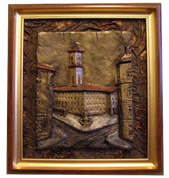 Картина Львовская площадь