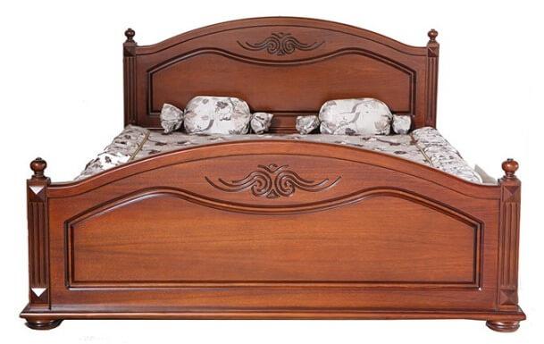 Кровать Элизабет 1,6 (дерево)