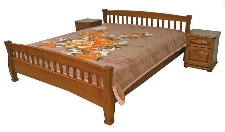 Кровать Верона 1,6 (дерево)