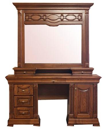 Туалетный столик Элеонора нова (с зеркалом и надставкой)