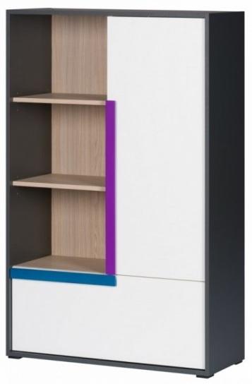 Детский шкаф Алекс 2D (стеллаж)